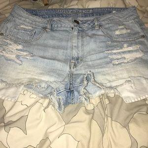 American Eagle high-rise shorts